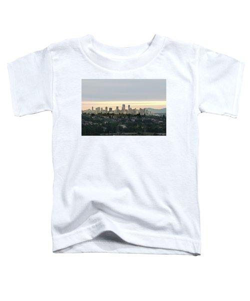 Downtown Sunset Toddler T-Shirt