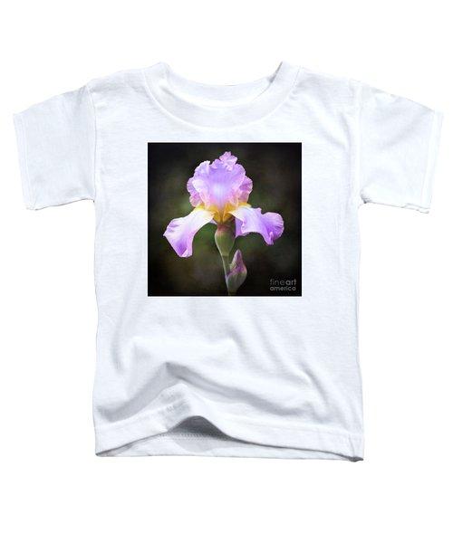 Dramatic Purple Iris Toddler T-Shirt