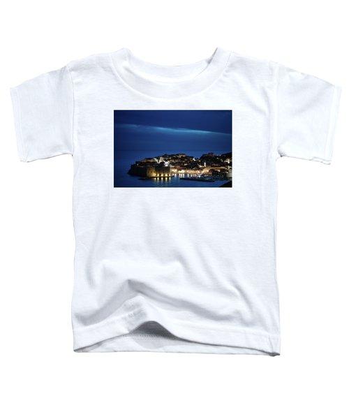 Dubrovnik Old Town At Night Toddler T-Shirt