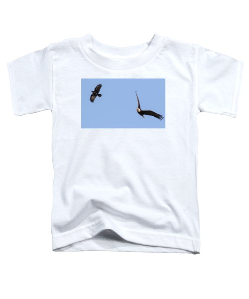 Eagle And Crow  Toddler T-Shirt