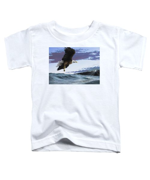 Eagle In Flight Toddler T-Shirt