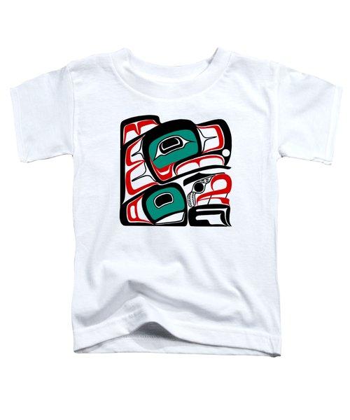 Eagle - Northwest Coast Formline Design Toddler T-Shirt