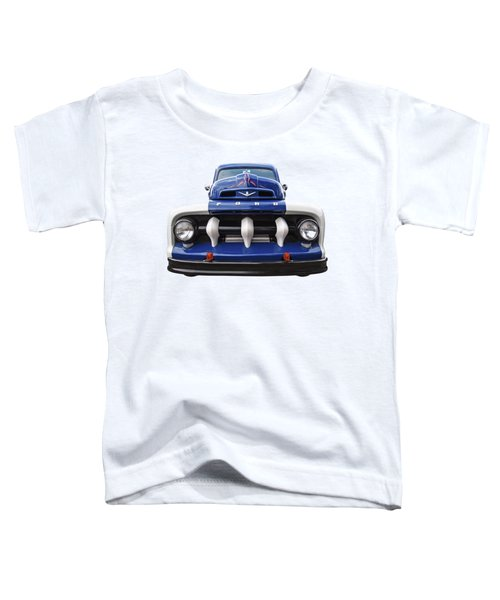 Early Fifties Ford V8 F-1 Truck Toddler T-Shirt