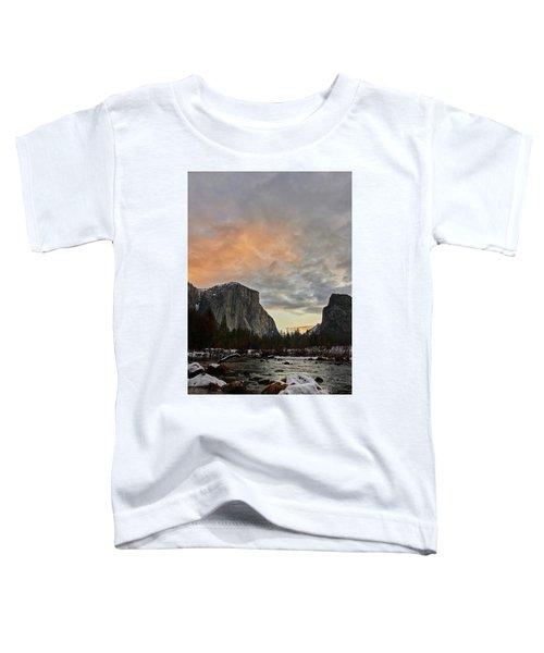 El Capitan At Sunset Toddler T-Shirt