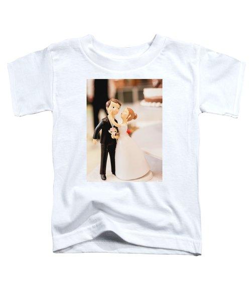 Elegant Wedding Cake Dolls Toddler T-Shirt