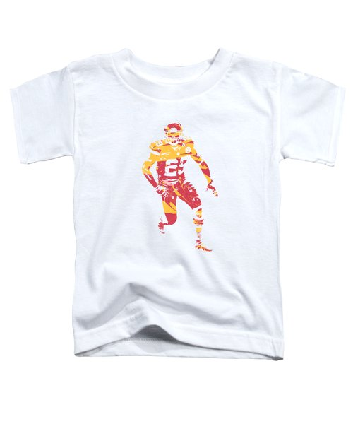 Eric Berry Kansas City Chiefs Apparel T Shirt Pixel Art 1 Toddler T-Shirt