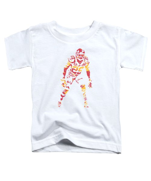 Eric Berry Kansas City Chiefs Apparel T Shirt Pixel Art 2 Toddler T-Shirt