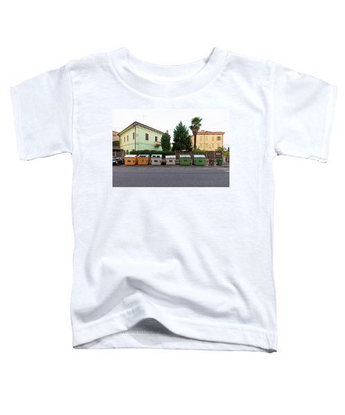 European New Topographics 4 Toddler T-Shirt