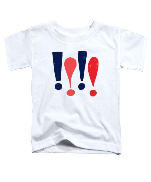 Exclamations Pop Art Toddler T-Shirt