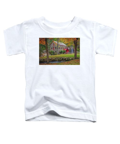 Fall Foliage At The Grist Mill Toddler T-Shirt