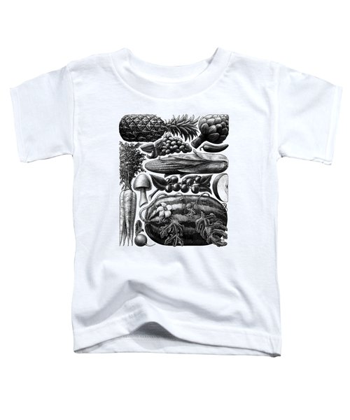 Farmer's Market - Bw Toddler T-Shirt