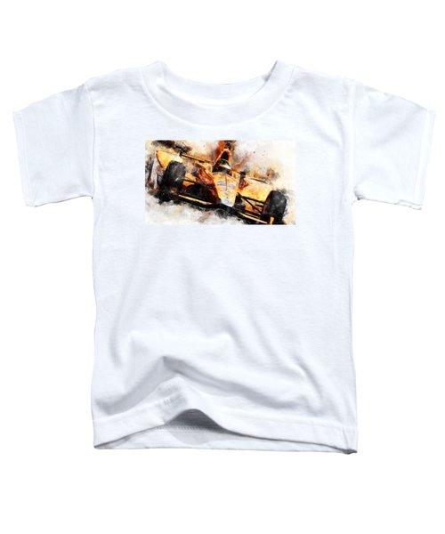 Fernando Alonso, Indy 500 - 04 Toddler T-Shirt