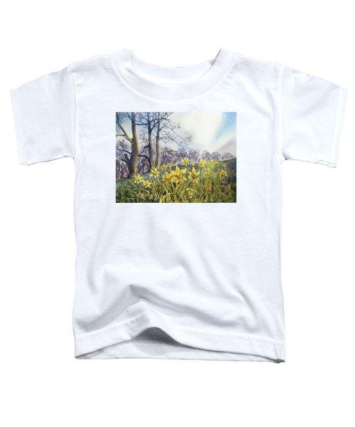 Field Of Hope At Burton Agnes Toddler T-Shirt