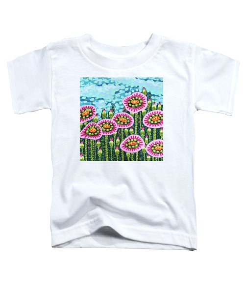 Floral Whimsy 8 Toddler T-Shirt