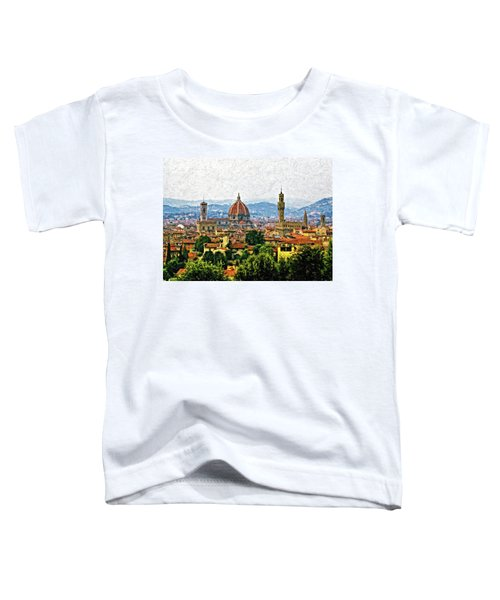 Florence Impasto Toddler T-Shirt