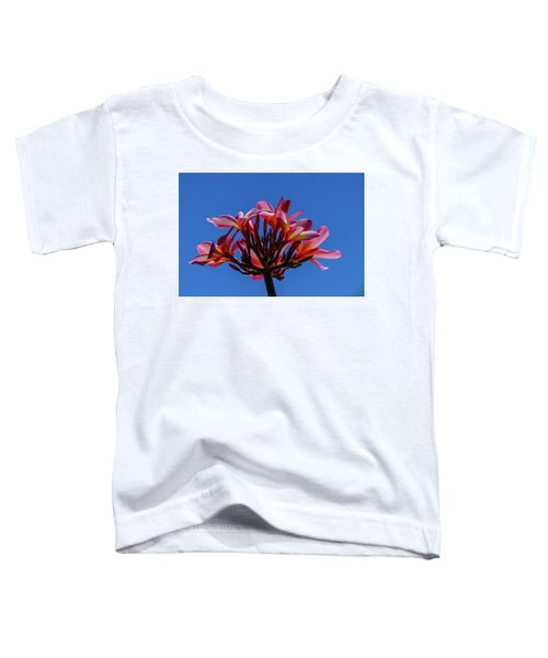 Flowers In Clear Blue Sky Toddler T-Shirt