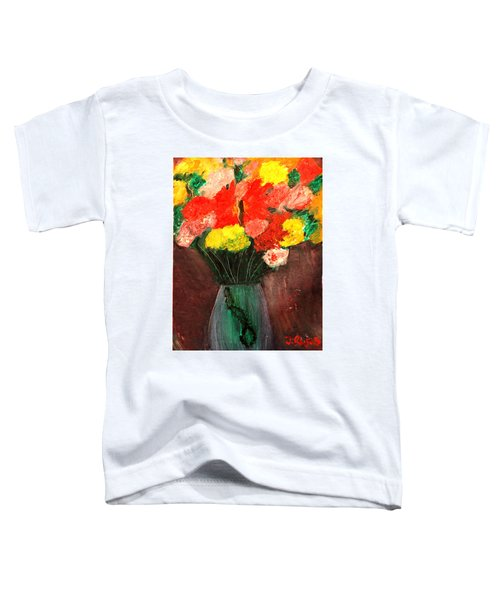 Flowers Still Life Toddler T-Shirt