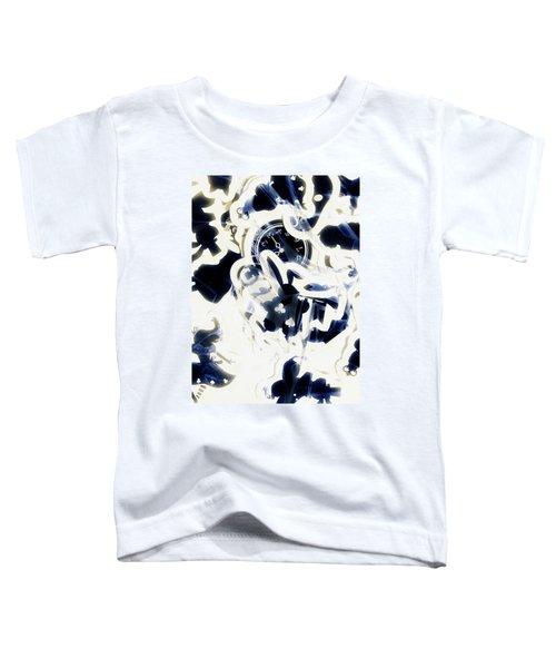 Follow The Blue Rabbit Toddler T-Shirt