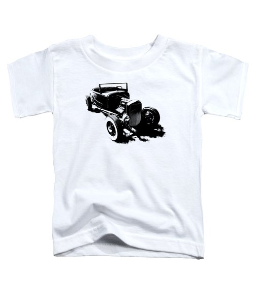 Ford Flathead Roadster Two Blk Toddler T-Shirt