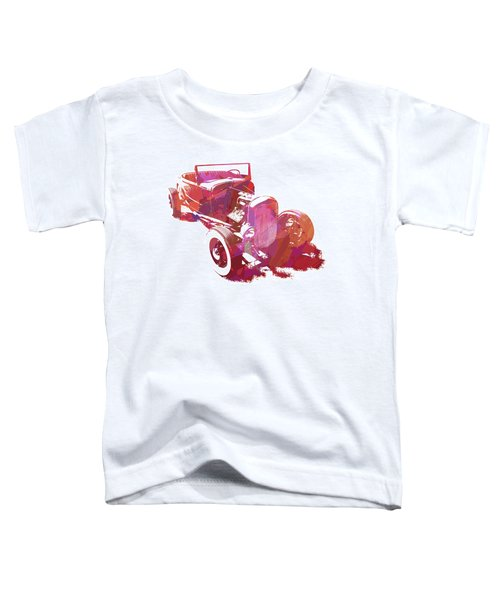 Ford Flathead Roadster Two Pop Toddler T-Shirt