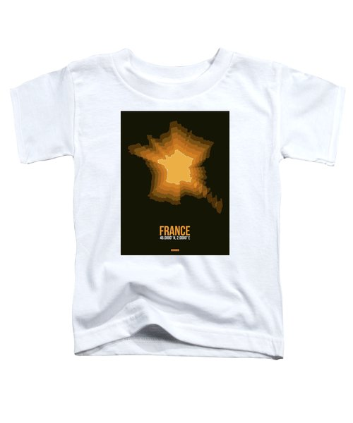 France Radiant Map 3 Toddler T-Shirt