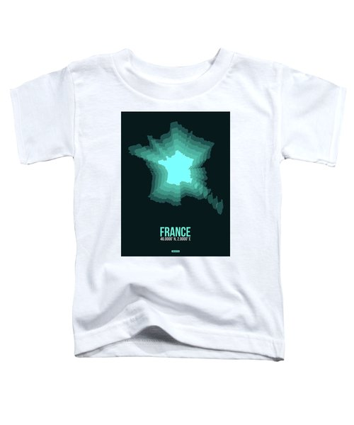 France Radiant Map II Toddler T-Shirt