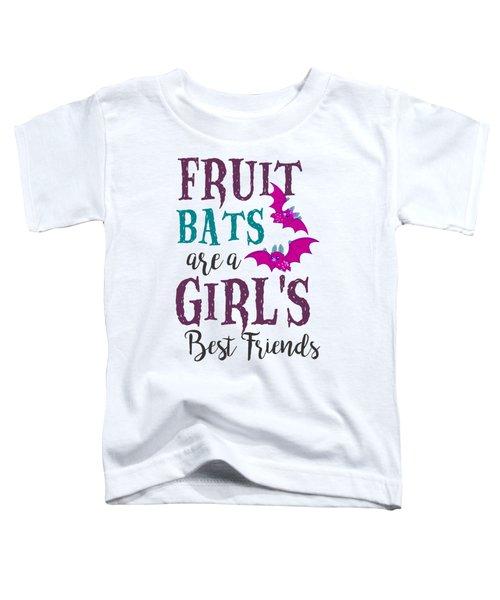 Fruit Bat Conservation Halloween Flying Fox Women Light Toddler T-Shirt