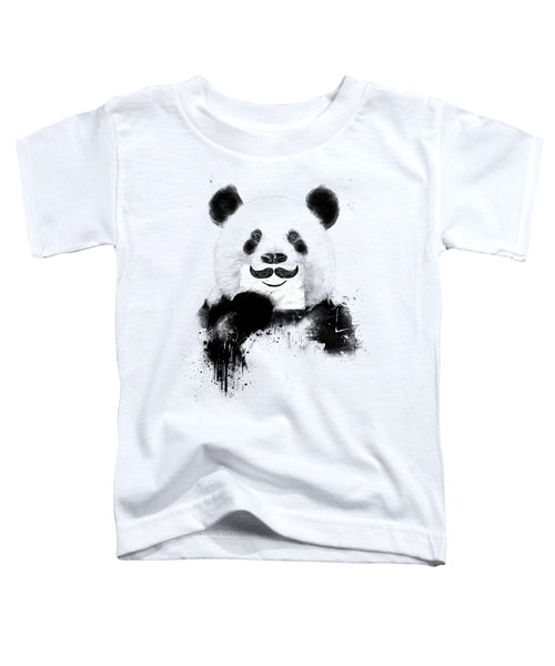 Funny Panda Toddler T-Shirt