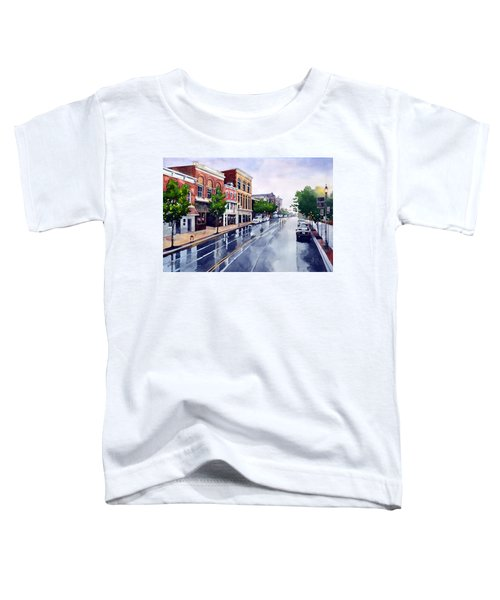 Gaslights And Afternoon Rain Toddler T-Shirt