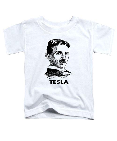 Genius Nikola Tesla T-shirt Toddler T-Shirt