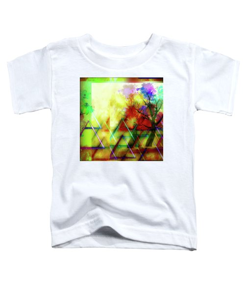 Geometric Abstract Toddler T-Shirt