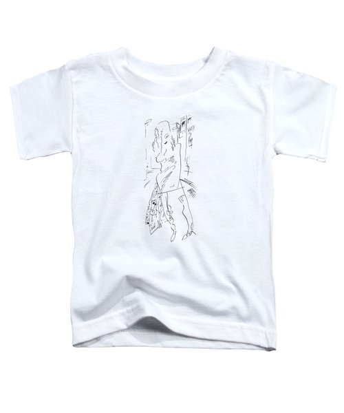 Girl On The Street Toddler T-Shirt