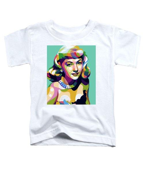 Gloria Graham Toddler T-Shirt