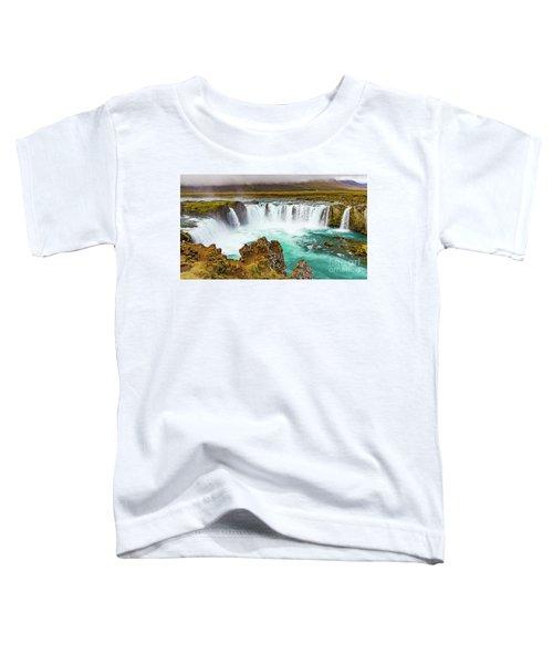 Godafoss Waterfall, Iceland Toddler T-Shirt