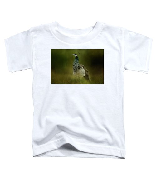 Green Gem In The Meadow  Toddler T-Shirt