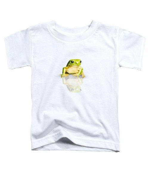 Green Tree Frog Toddler T-Shirt