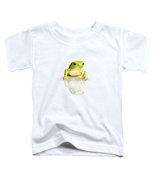 Green Tree Frog Toddler T-Shirt