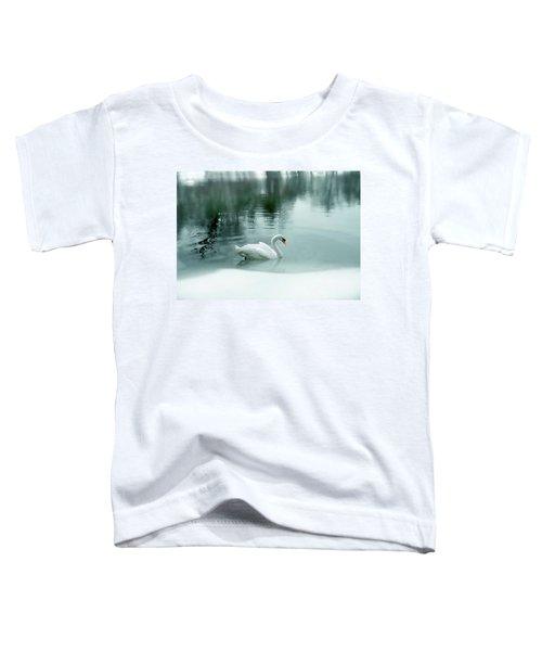 Cyan Winter Toddler T-Shirt