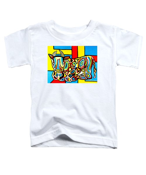 Haring's Cow Toddler T-Shirt
