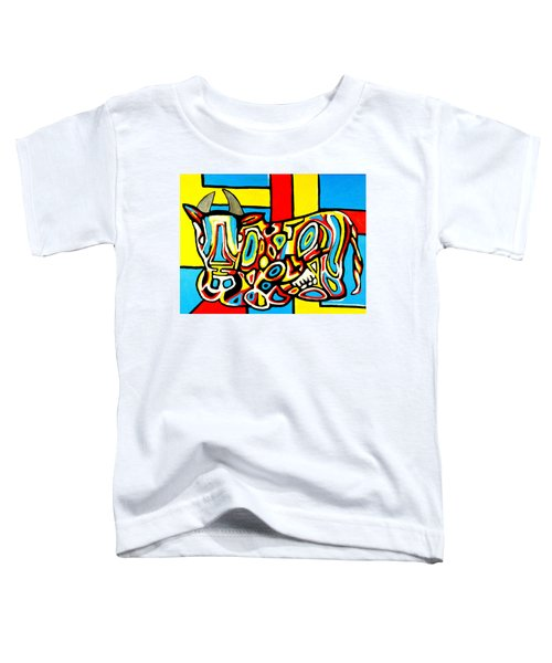 Haring's Cow Toddler T-Shirt