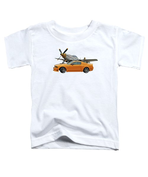 High Flyers - Mustang And P51 Toddler T-Shirt