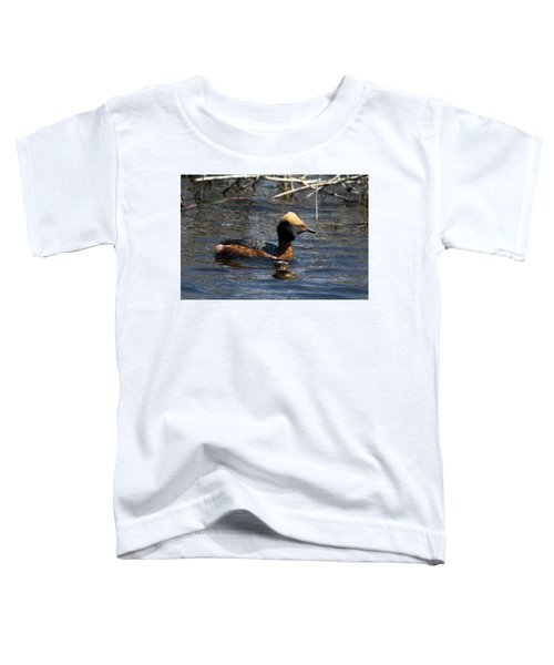 Horned Grebe 102713 Toddler T-Shirt