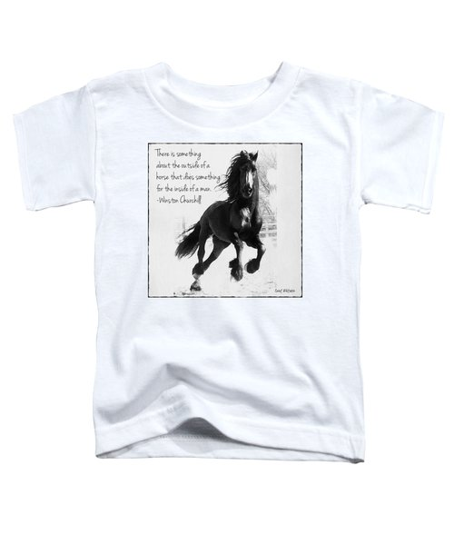 Horse's Profound Spirit  Toddler T-Shirt