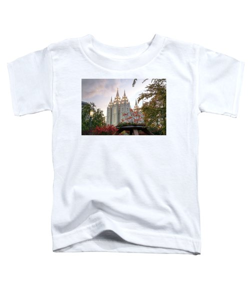Toddler T-Shirt featuring the photograph House Of The Lord by Dustin  LeFevre