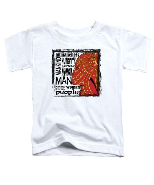 Human Being Toddler T-Shirt