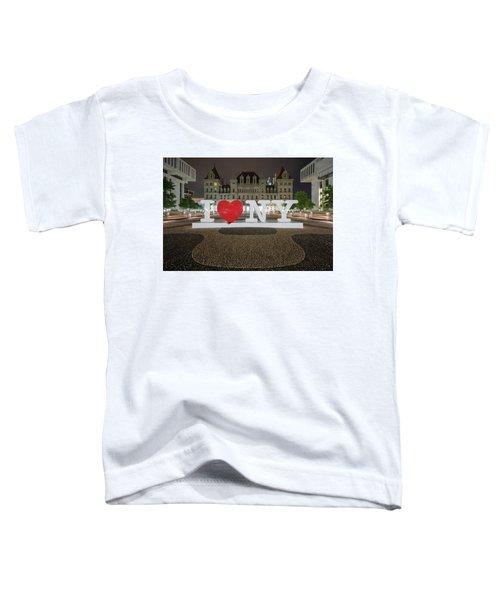 I Love Ny Toddler T-Shirt