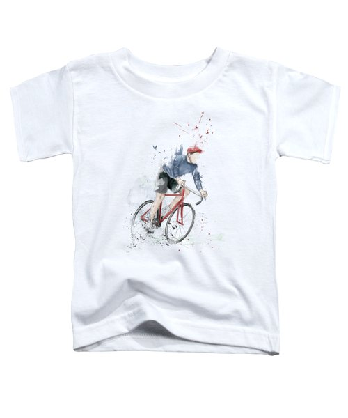 I Want To Ride My Bicycle Toddler T-Shirt
