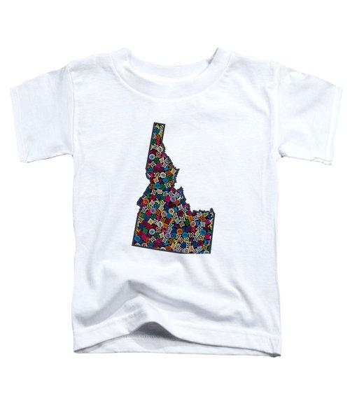 Idaho Map - 1 Toddler T-Shirt