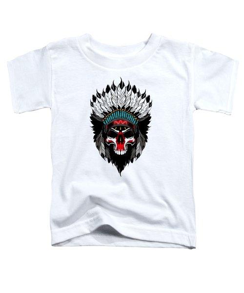 Indian Skull Toddler T-Shirt