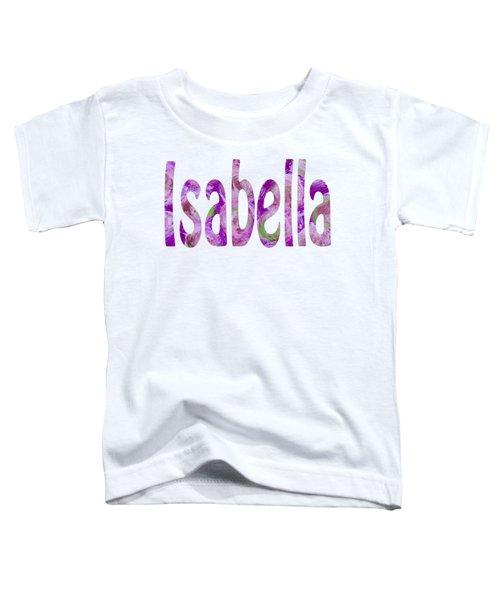 Isabella Toddler T-Shirt